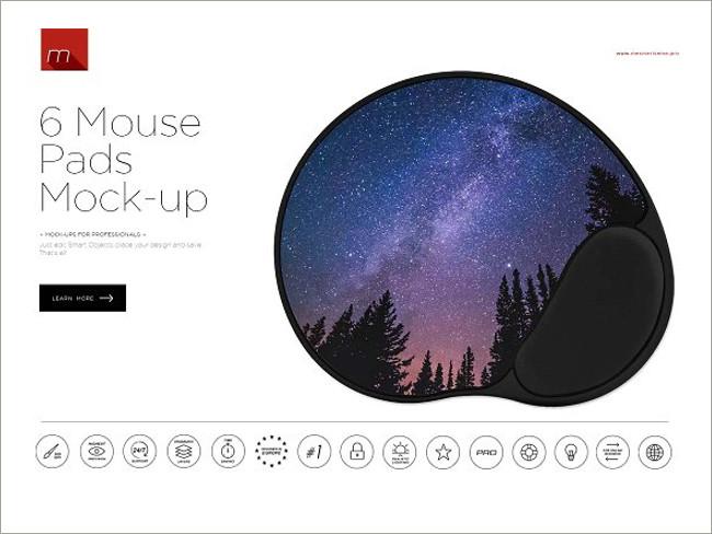 mouse pad mockeup psd 10