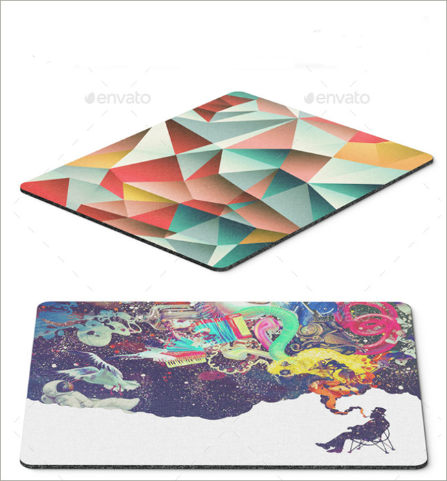 mouse pad mockeup psd 12