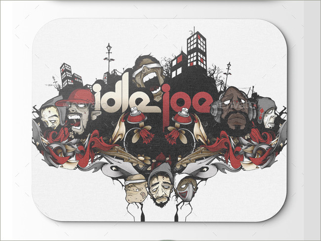mouse pad mockeup psd 14