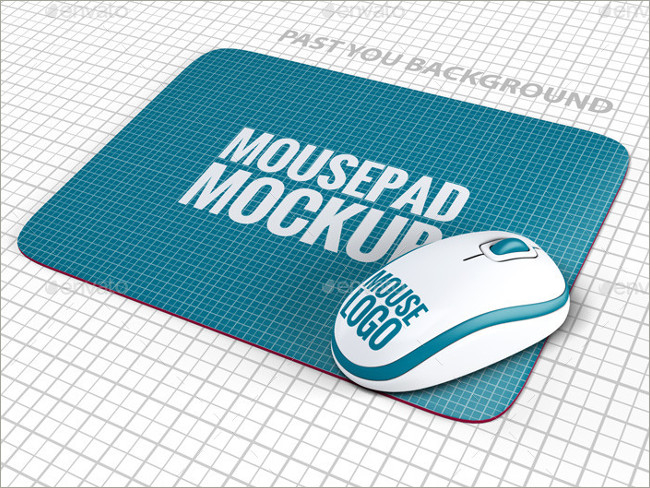 mouse pad mockeup psd 17