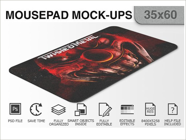 mouse pad mockeup psd 4