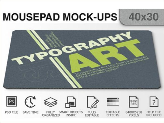 mouse pad mockeup psd 6