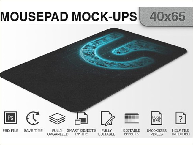 mouse pad mockeup psd 7