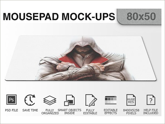 mouse pad mockeup psd 8