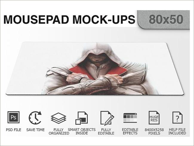 mouse pad mockeup psd 8