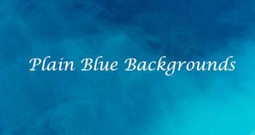 plain blue background