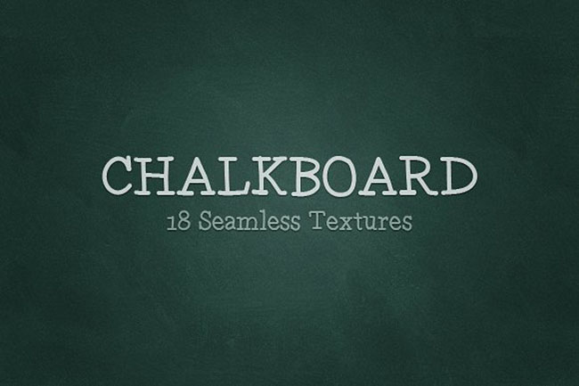 seamless Chalkboard Background Design