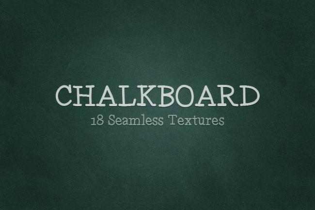 seamless Chalkboard Background Design