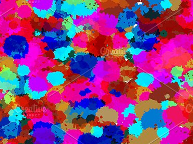 splatter patterns 14