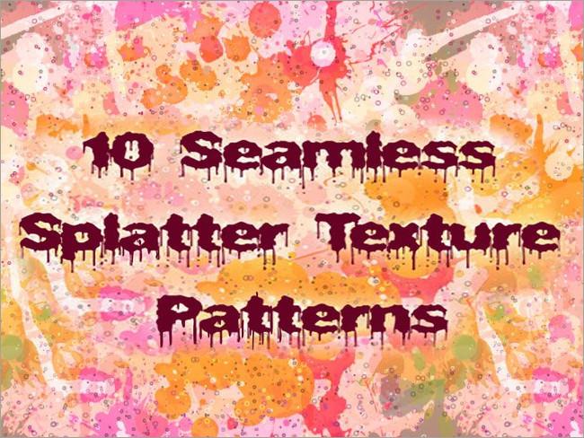 splatter patterns 22