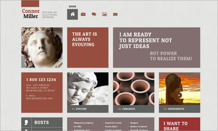 Best Sculpture WordPress Themes