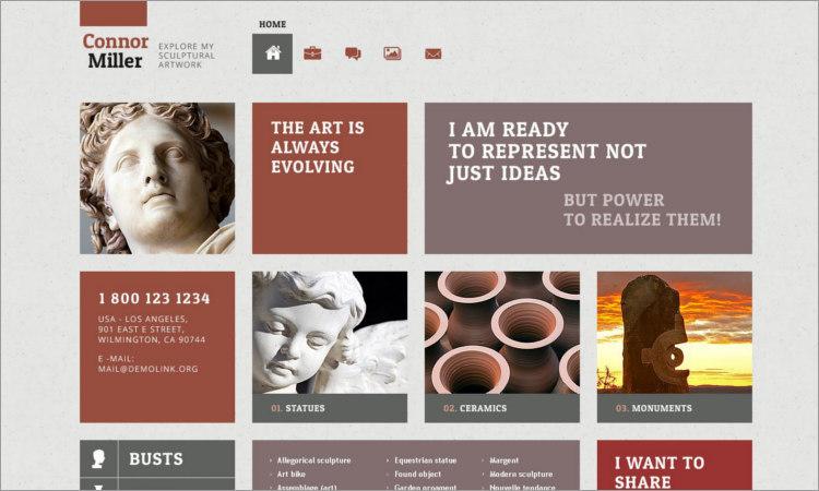 Best Sculpture WordPress Themes