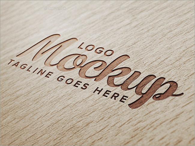 wood logo mockups 11