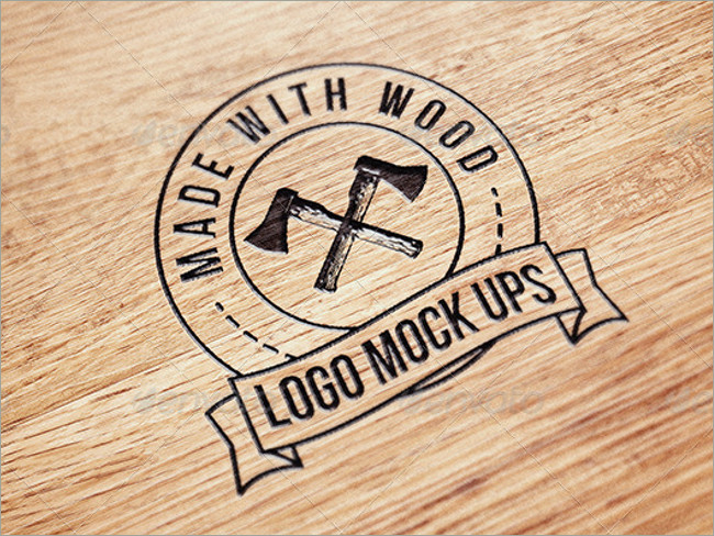 wood logo mockups 13