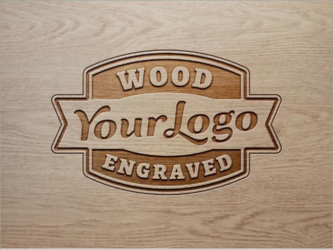 wood logo mockups 29