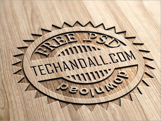 wood logo mockups 30