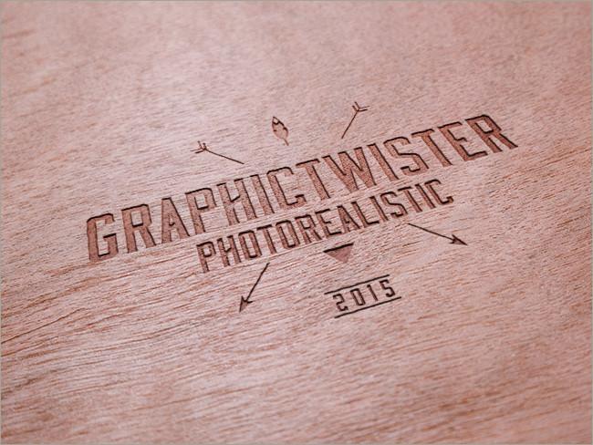 wood logo mockups 32