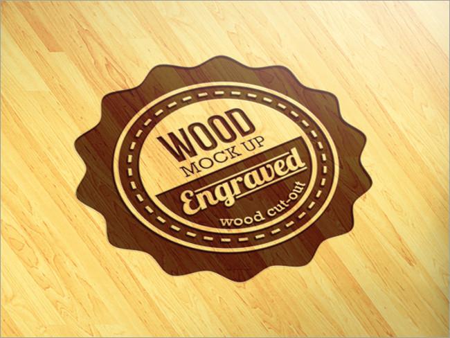 wood logo mockups 37