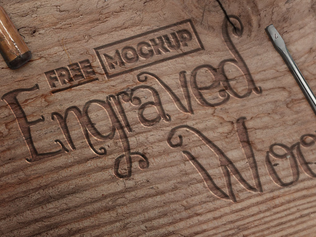 wood logo mockups 38
