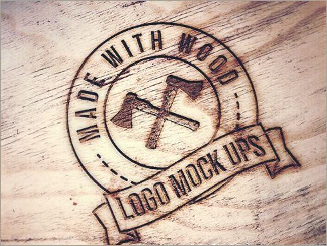 wood logo mockups 41