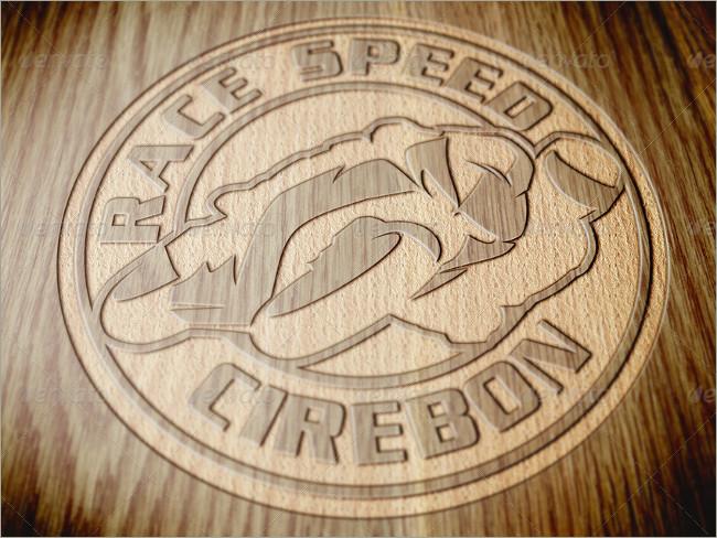 wood logo mockups 8