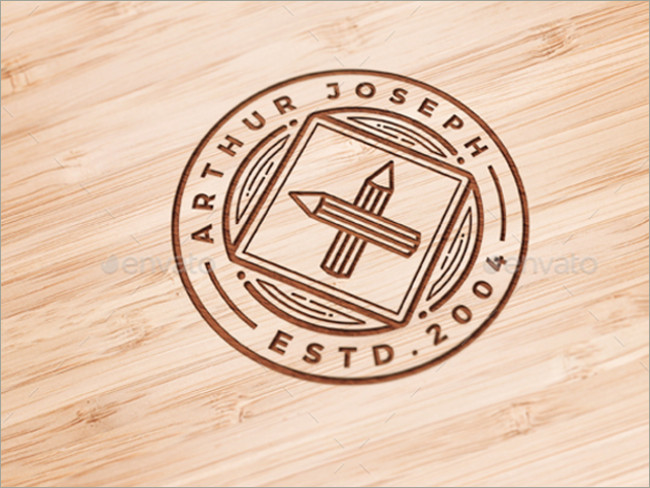 wood logo mockups 9