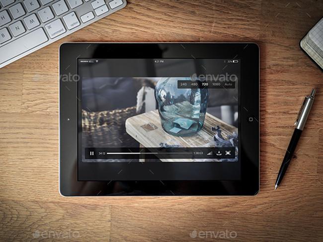 10 Display Tablet Mock-Up PSD Pro Download