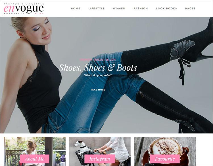 18+ Fashion Blog Templates