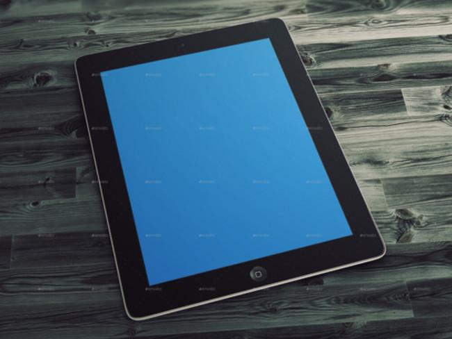 4 Tablet Mockups