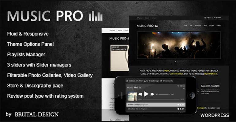 Grunge Style WordPress Themes
