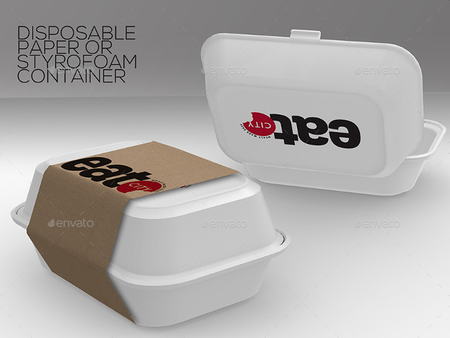 8 Fast Food Packaging Boxes Premium Download