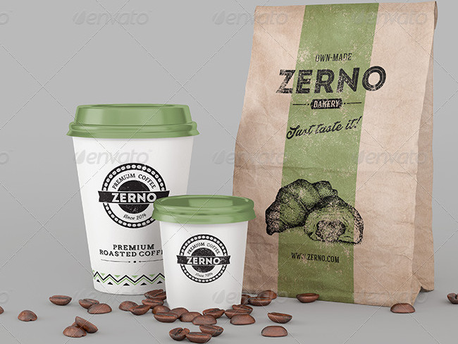 8 High Resolution Coffee Cup Mock-Up