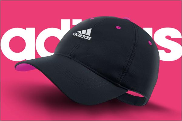 Adidas Cap Mockup Design