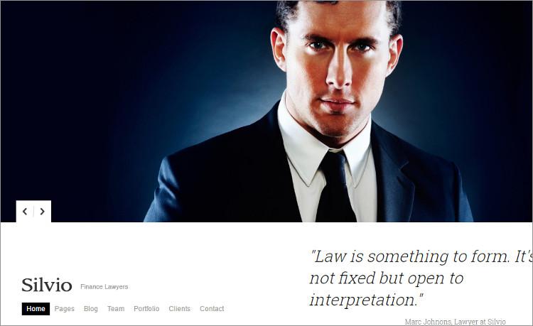 Advocate Business WordPress Templates