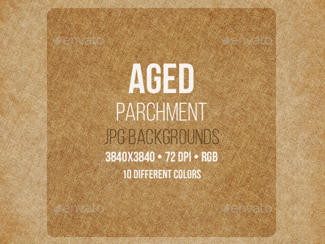 Aged Parchment Backgrounds