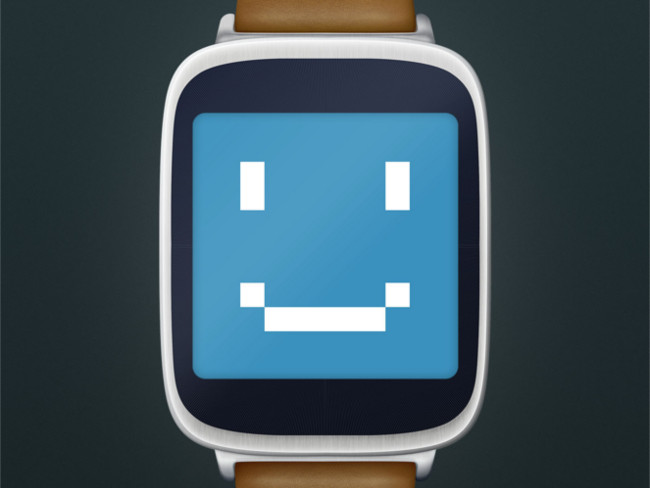 Android Watch UI Smart Watch Mock Up
