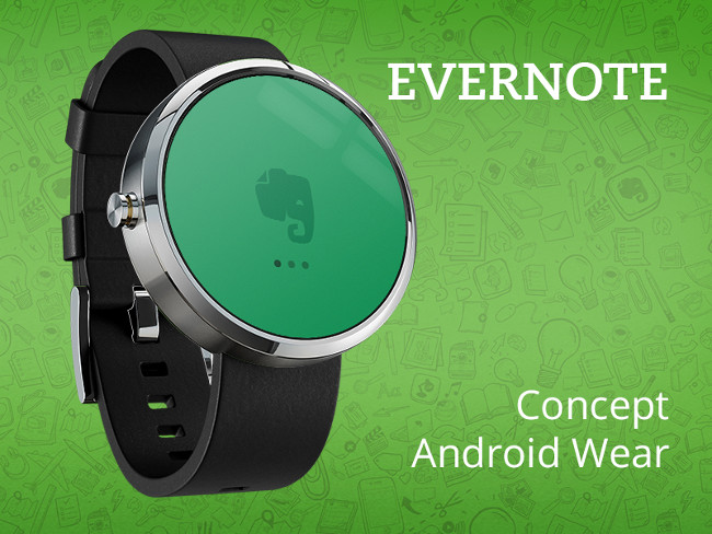 Android Wear Concept smart watch