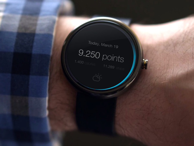 Android Wear Downloadable Watch Mock Up Free