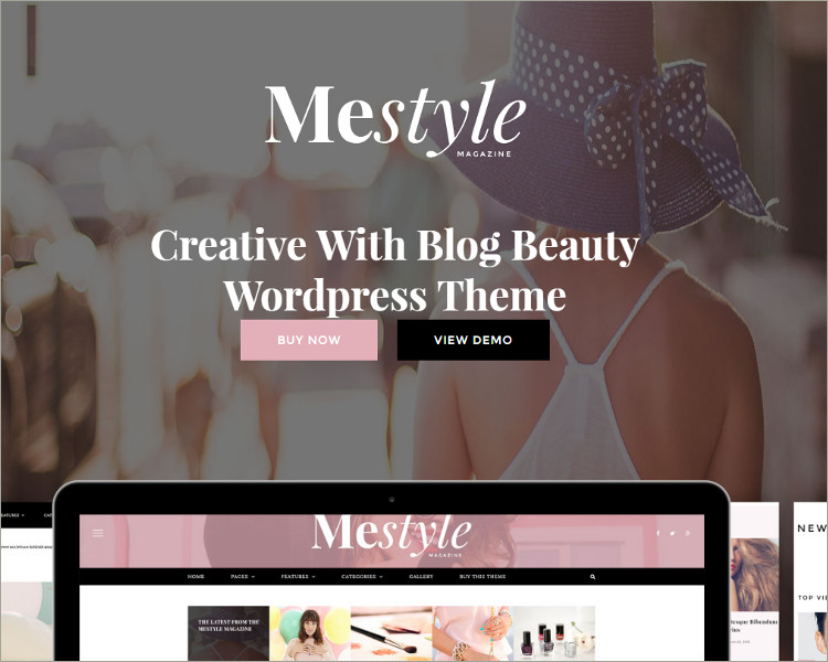 Angular Responsive WordPress Theme