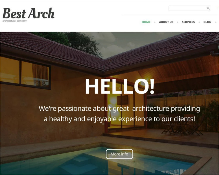 Architectural Selling WordPress Theme