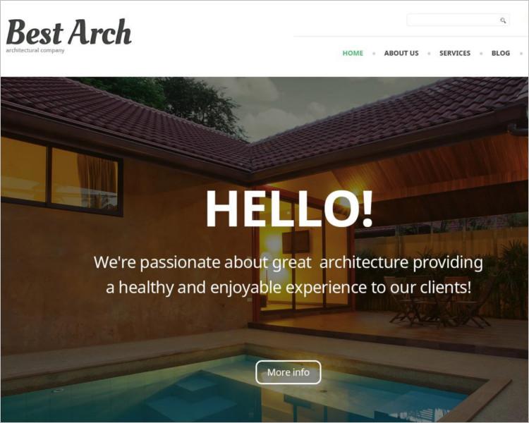 Architectural Selling WordPress Theme
