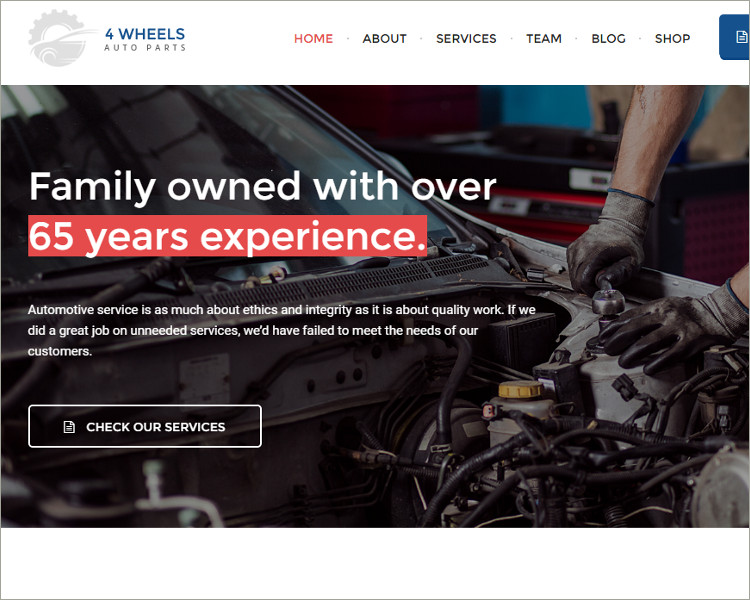 Auto Workshop and Shop