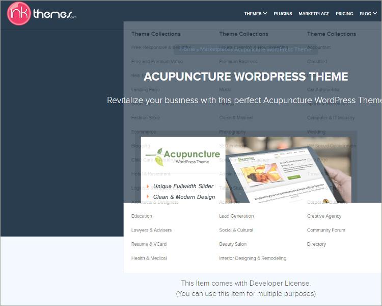 Best Acupuncture WordPress Theme