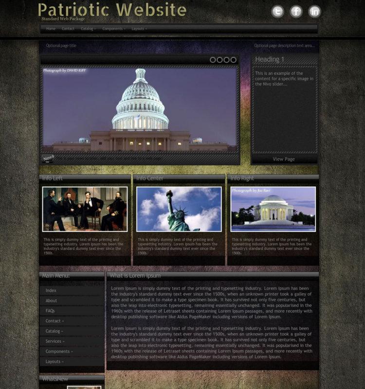 Best Patriotic WordPress Theme
