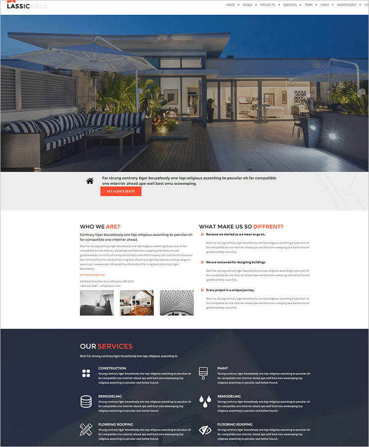 Best Roofing WordPress Themes
