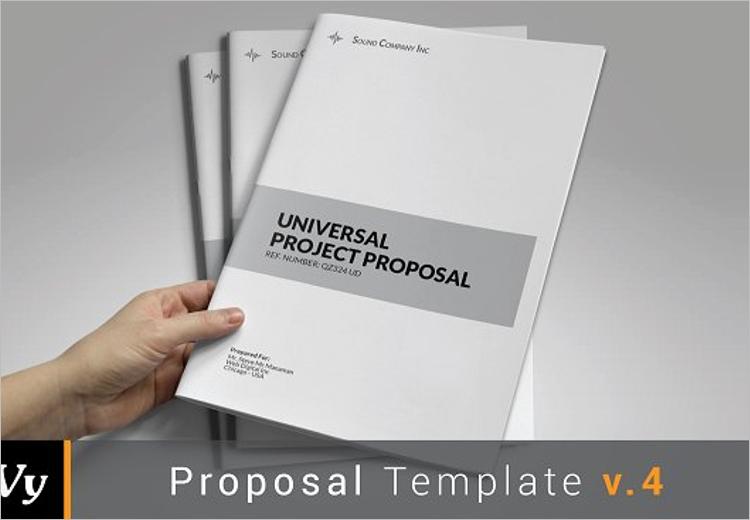 Blank Job Proposal Template