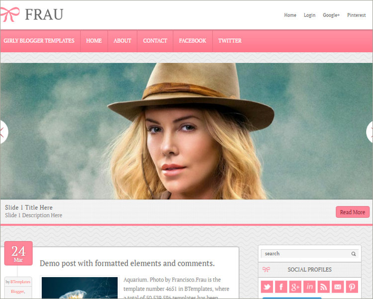 Blogger Template Download