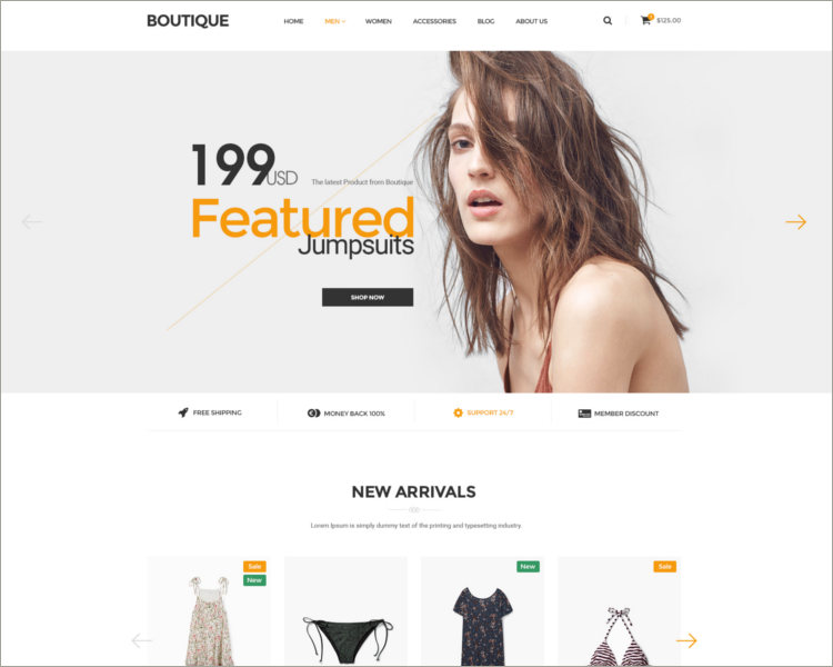Boutique Ecommerce Template