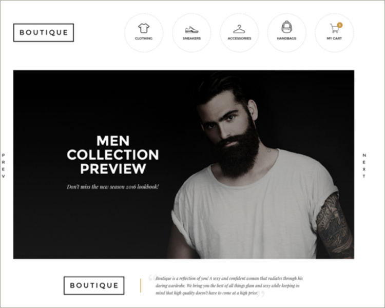 Boutique Fashion HTML Template