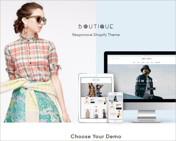 Boutique Shopify Theme